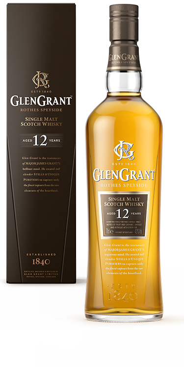 GLEN GRANT SINGLE MALT 12 YR
