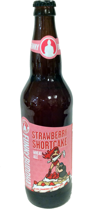 FUNKY BUDDHA STRAWBERRY SHORTCAKE