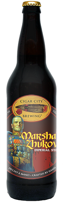 CIGAR CITY MARSHAL ZHUKOVS IMPERIAL STOUT