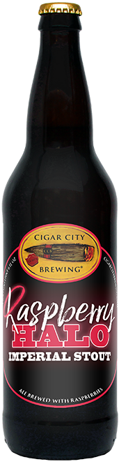 CIGAR CITY RASPBERRY HALO IMPERIAL STOUT