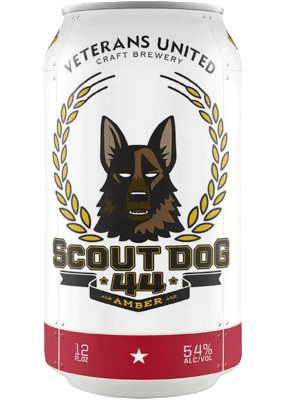 VETERANS SCOUT DOG 44 AMBER ALE