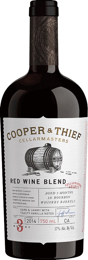 COOPER & THIEF RED BOURBON BARREL AGED
