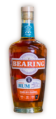 MARLIN & BARREL BEARING AMBER RUM