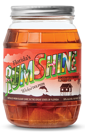 WICKED DOLPHIN STRAWBERRY RUMSHINE
