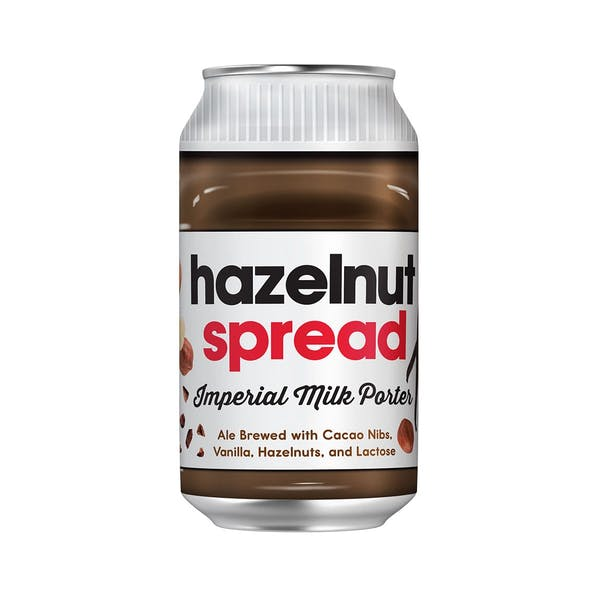 BREW BUS HAZELNUT SPREAD PORTER