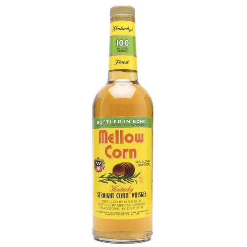 MELLOW CORN WHISKEY BOTTLED IN BOND