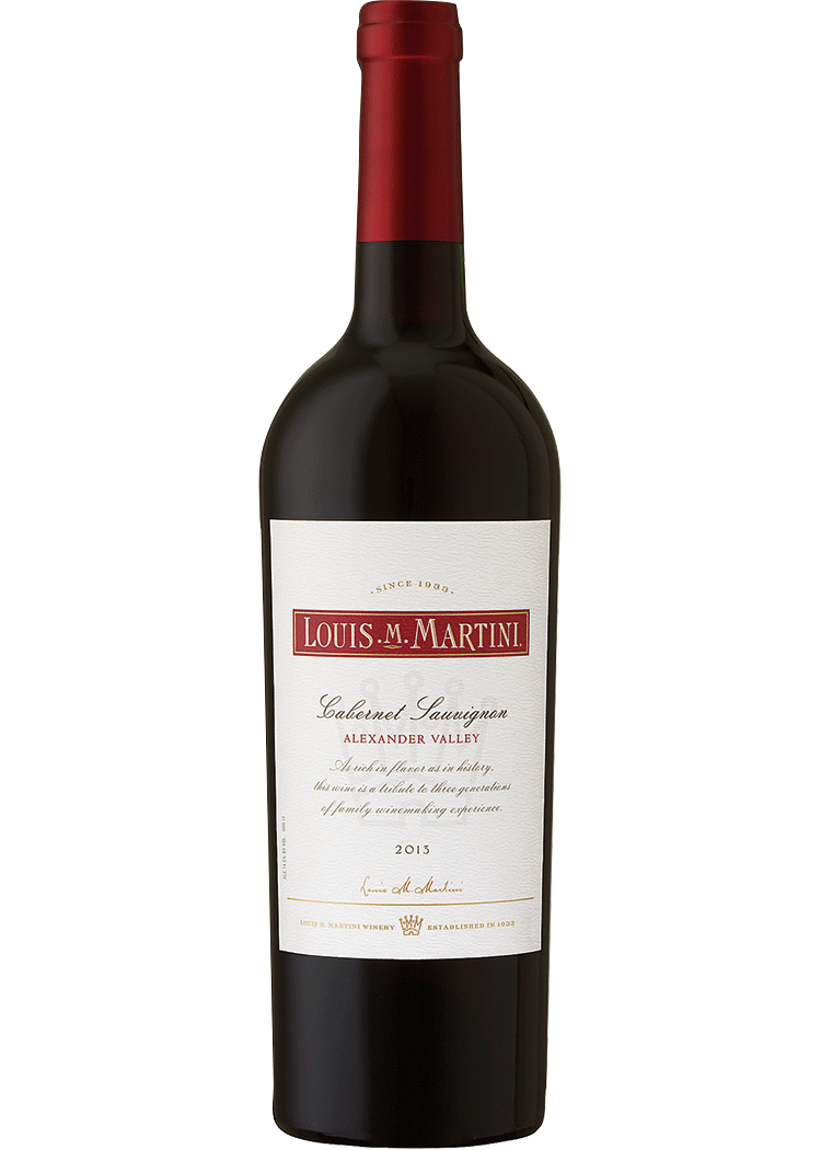 LOUIS MARTINI ALEXANDER VALLEY CABERNET