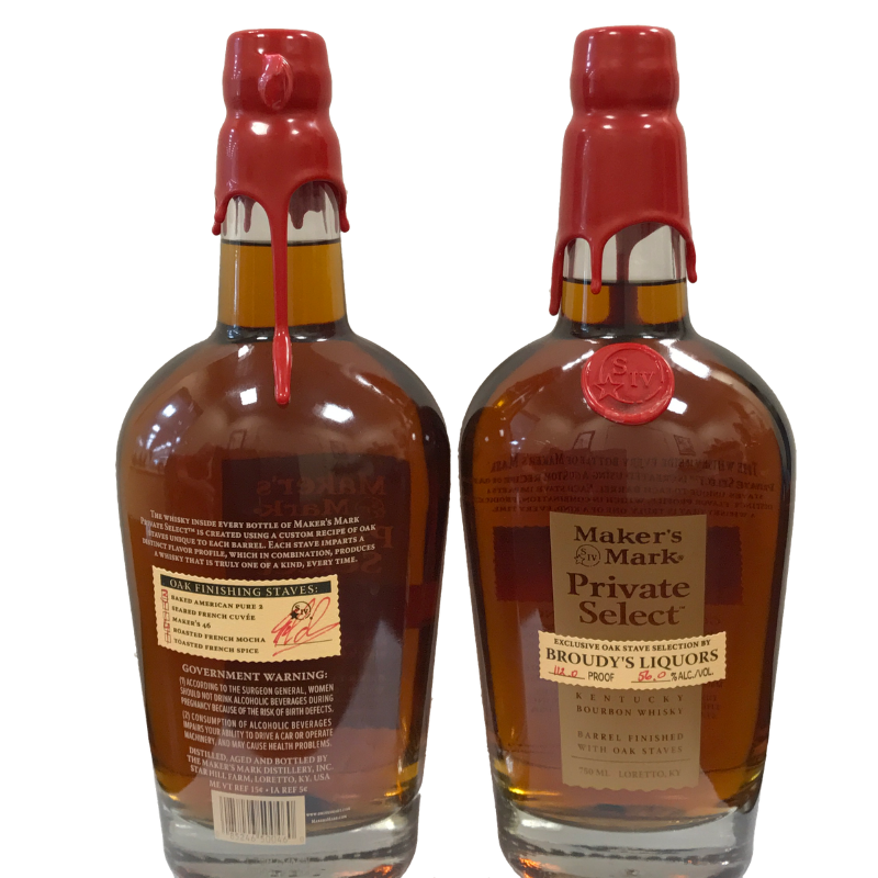 MAKERS MARK PRIVATE SELECT BROUDY BTL