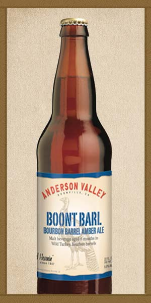 ANDERSON VALLEY BOONT BARL BOURBON BARREL AMBER ALE