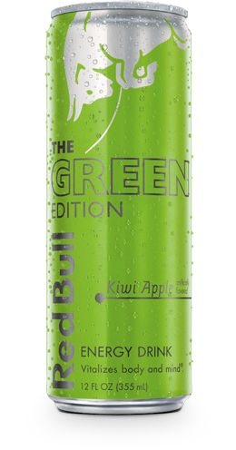 RED BULL THE GREEN EDITION