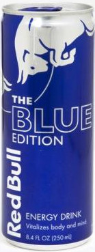 RED BULL THE BLUE EDITON