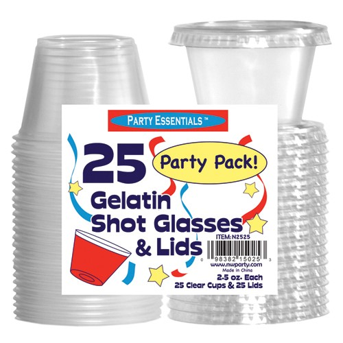 TB JELLO SHOT CUPS W/ LIDS