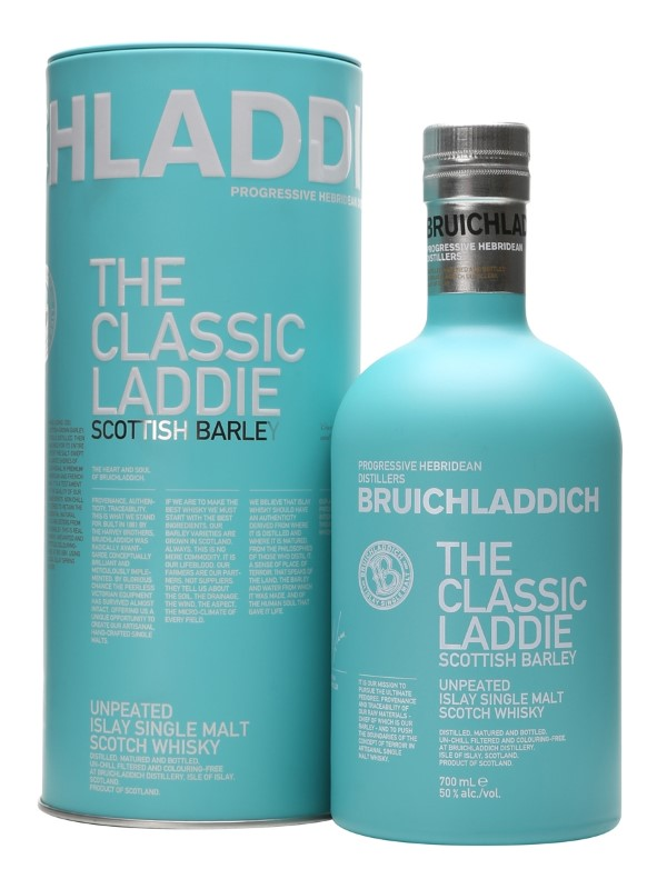BRUICHLADDICH TEAL TIN SCOTTISH BARLEY
