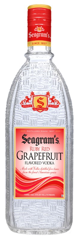 SEAGRAMS RUBY RED GRAPEFRUIT VODKA