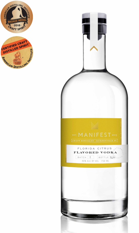 MANIFEST CITRUS VODKA