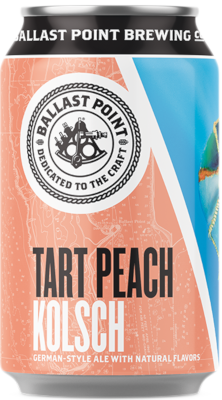 BALLAST POINT TART PEACH KOLSCH