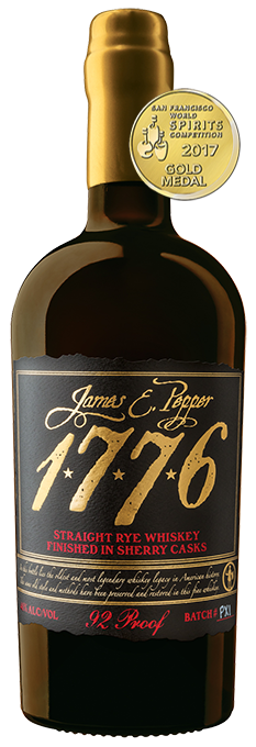 JAMES E PEPPER 1776 SHERRY CASK RYE