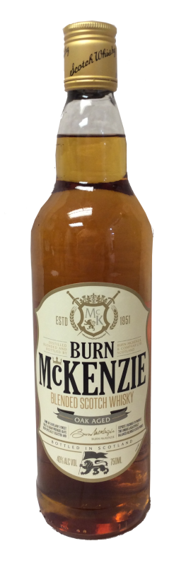 BURN MCKENZIE BLENDED SCOTCH WHISKY