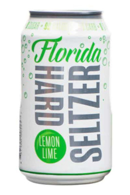 FLORIDA LEMON LIME HARD SELTZER