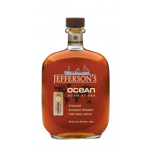 JEFFERSONS VOYAGE 15 OCEAN AGED AT SEA WHEATED MASH BILL