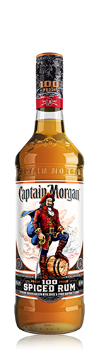 CAPTAIN MORGAN SPICED 100