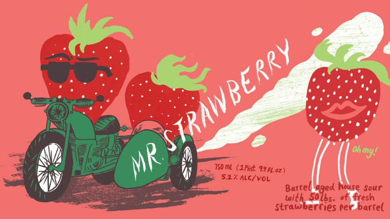 HIGHWAY MANOR MR STRAWBERRY BARREL AGED SOUR