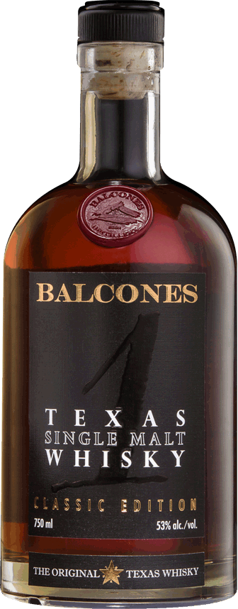 BALCONES WHISKEY TEXAS SINGLE MALT