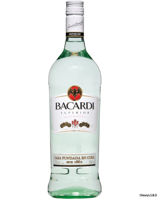 BACARDI WHITE GLASS