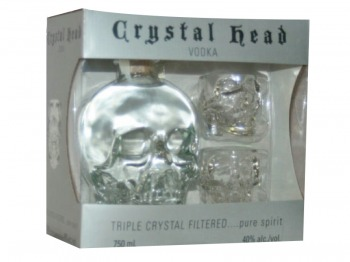 CRYSTAL HEAD VODKA GIFT SET