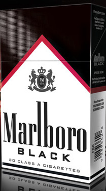 MARLBORO BLACK KS BOX