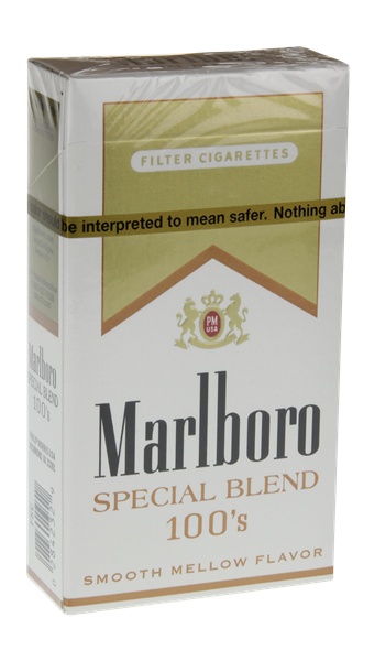 MARLBORO SPECIAL SELECTS 100 GOLD BX