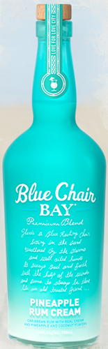 BLUE CHAIR PINEAPPLE RUM CREAM