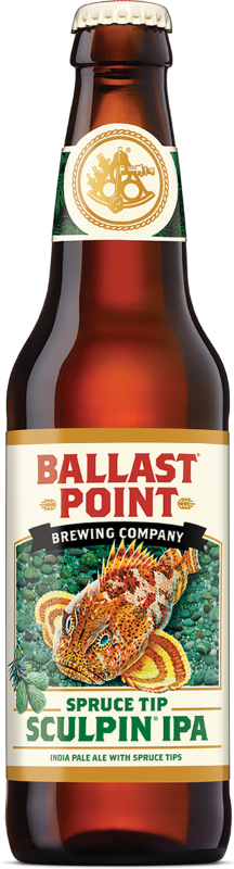 BALLAST POINT SPRUCE TIP SCULPIN IPA