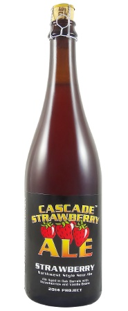 CASCADE BREWING STRAWBERRY ALE