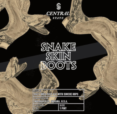 CENTRAL STATE SNAKE SKIN BOOTS