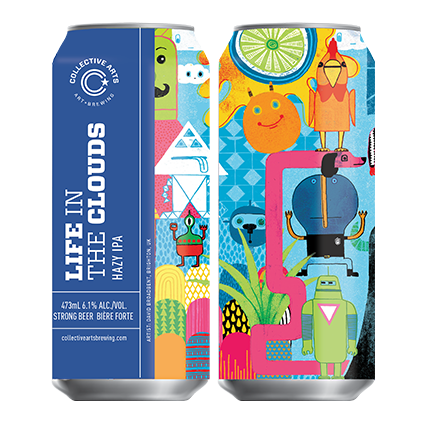 COLLECTIVE ARTS LIFE IN THE CLOUDS IPA