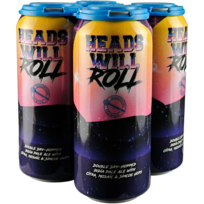 MIKEPHONE HEADS WILL ROLL DOUBLE DRY HOPPED IPA