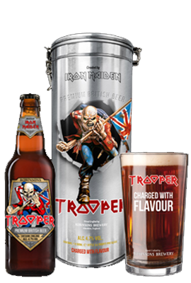 IRON MAIDEN TROOPER GIFT SET