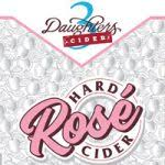 3 DAUGHTERS ROSE HARD CIDER