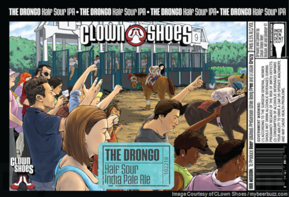 CLOWN SHOES THE DRONGO