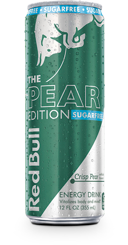 RED BULL CRISP PEAR SUGAR FREE