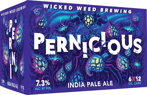 WICKED WEED PERNICIOUS I.P.A.