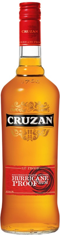 CRUZAN HURRICAN PROOF 137 PROOF