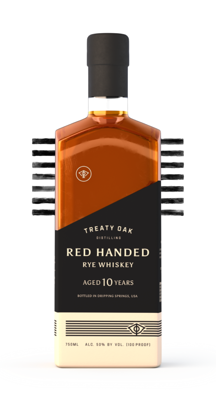TREATY OAK RED HANDED RYE WHISKEY