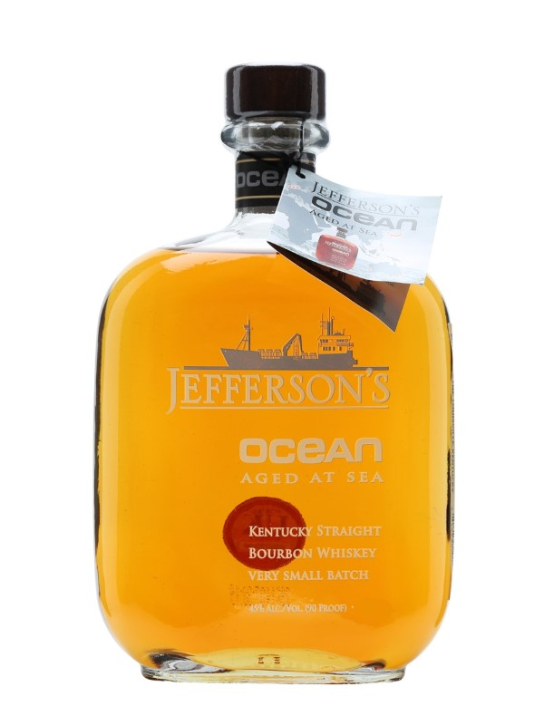JEFFERSONS VOYAGE 17 OCEAN AGED AT SEA