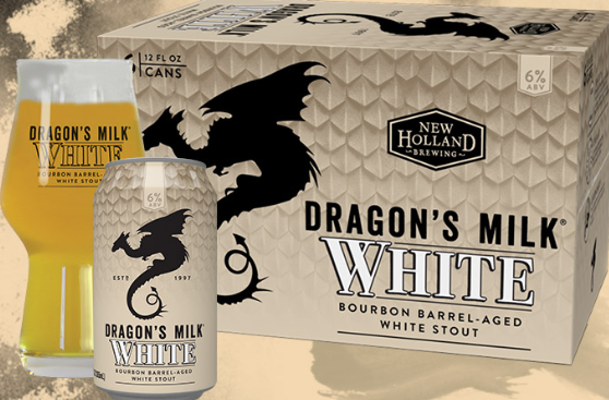 NEW HOLLAND DRAGONS MILK WHITE