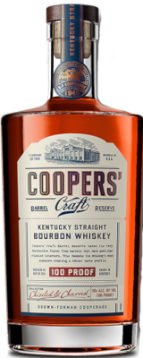 COOPERS CRAFT 100 PROOF BOURBON