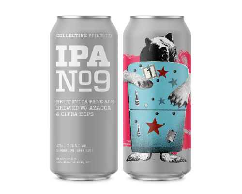 COLLECTIVE ARTS PROJECT IPA NO. 9 BRUT IPA