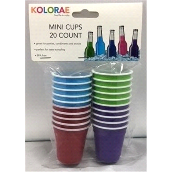 KOLORAE MINI CUPS 20 COUNT