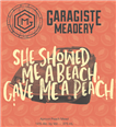 GARAGISTE MEADERY SHE SHOWED ME A BEACH